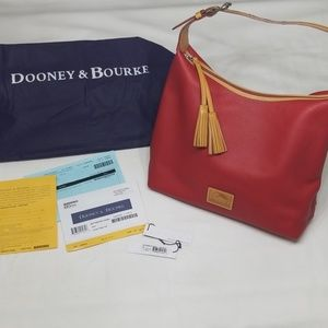 Dooney & Bourke Patterson Large Paige Sac in Red
